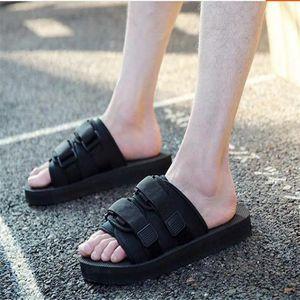Hot sell summer men women flats sandals black slippers casual shoes print mixed colors flip flop size 35-46