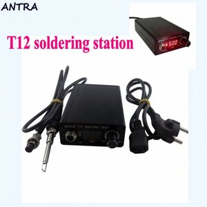 Zu T12 Lötstation Elektronischer Schweiß Eisen Automatische Schlaf automatisches Standby Thermostatsteuerung STC-T12 L1115 tzSE #