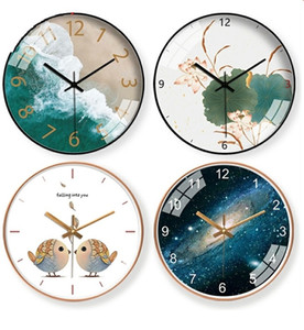 Silent Wall Clock Living Room Creative Fashion Clock Modern Minimalist Art Luxury Nordic Novelty Wall Watch Modern Design