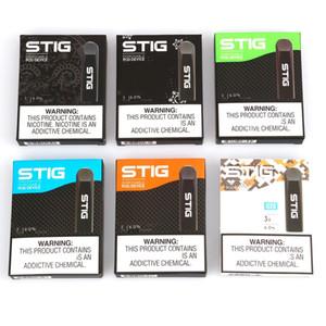 100% Vorlage VGöD STIG Einweg 8 Farben Leere Pod Gerät 3Pcs-Pack 270mAh Akku 1,2 ml Patrone Vape Pen Kit