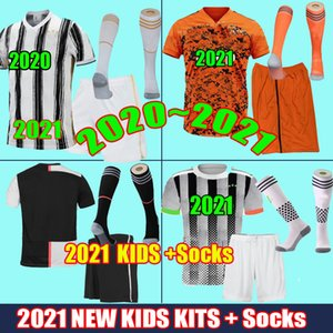 Juventus Maillots de football 2021 Fans Player 2020 Maillots de football Ronaldo Dybala Maillots de LIGT 19 20 21 Palace Maglia da Calcio Men Kids Kit