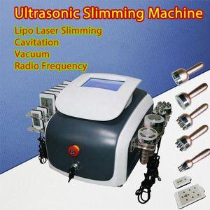 Portable new cavitation machine weight loss vacuum cavitation ultrasonic cavitation Vacuum RF lipo laser fat Slimming Machine