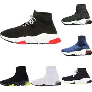 2020 Speed Stretch Knit High-Top Casual Sock Boots Original Speed Trainer Clearsole Buffer Rubber Built-in Zoom Air Trainer Shoes
