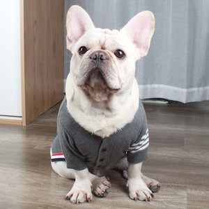 Fashion Dog Sweater Winter Pet Dog Clothes For Dogs Coat Hoodie Wool French Bulldog Clothes Puppy Pet Clothing For Dogs Outfits T200710
