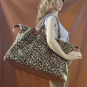 Nouvelle polaire de fourrure de léopard Weekender sac fourre-tout avec poignée en cuir gros femmes vache zèbre sac à main de cause à effet tie-dye doux sac à bandoulière en polaire d'hiver