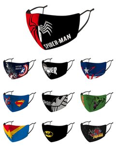 Kid Máscara de Natal super-herói máscara para o miúdo Criança Avengers Marvel Homem Aranha preta ironman capitão máscara américa hulk Batman