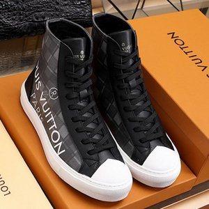 Casual Mens Shoes Luxury Fashion Sneakers Zapatos De Hombre With Origin Box Tattoo Sneaker Boot Mens Shoes Fashion Bottes Hommes Fast Ship