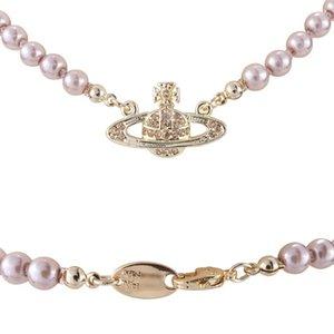 2020 New Fashionable marca colar feminino Ocidental Rainha Mãe Vivienne Vivienne Saturn colar de pérolas Clavícula Cadeia Punk Atmosfera