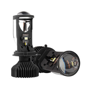 Super Bright LED Projector H4 Mini Lens Y6D LED farol lâmpadas 36W Hi Low Raio de Luz Car
