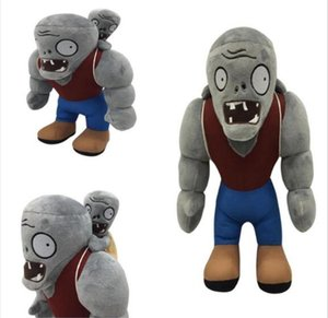 32cm Plants vs. Zombies Plush Toy Giant Little Zombie Game Doll Catch Machine Doll Plush toy children's toy gifts
