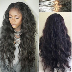 Brazilian Wet And Wavy Full Lace Wigs Virgin Hair Long Wet Wavy Cheap Glueless Full Lace Front Human Hair Wig Pre Plucked