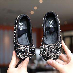 Girl Shallow Dance Shoes Pink Kids Slip-on Elastic Non-slip Shoes 2020 Autumn New Plat Princess Shoes Light Green Size 26-36 3-710