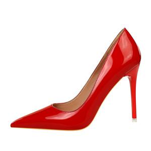 10,5 centímetros Super Plataforma Ultra High Heels Peep Toe Bombas Mulheres Party Club Wear fúcsia azul de ouro Big Size 34 a 40