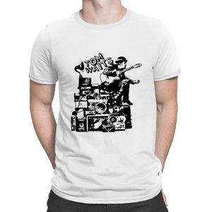 Tom Waits Vintage Tom Waits Gömlek Vintage Tişörtlü Nefes O-Boyun Baskı Stil Trend S-5XL Tişört Kısa Kollu Yaz