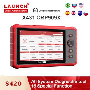 발사 X431 CRP909 X OBD2 스캐너 전체 시스템 자동차 진단 도구 WIFI OBD2 OBDII 자동차 코드 리더 CRP909X