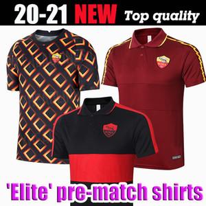 futbol forması AS De Rossi Dzeko Zaniolo roma TOTTI Perotti formaları 20 21 roma maç öncesi antrenman forması 2020 2021 Erkekler üniformalar maillot