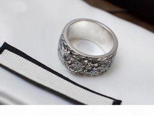 Têm selos tg anéis de grife para jóias homens e mulheres partido campeonato anillos de luxo com para o presente cuples amantes com caixa