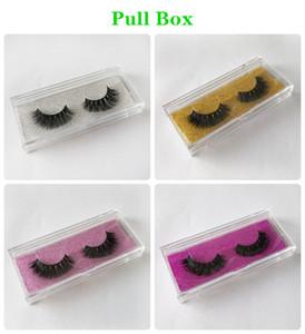 3D Mink Hair False Eyelashes Factory Outlet Magic Princess Pair Natural Nude Makeup Eyelash Wholesale and Retail DHL shipping