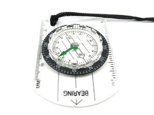 Compass Desert Island Seek survie Boussoles Multi Function Règle corde en verre transparent de liaison de roulement Observer Emplacement 1 65CS C2