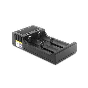 Liitokala Lii-S2 caricabatteria LCD 2 slot per 18650 26650 21700 18350 AA AA al litio della batteria NiMH Auto-polarità del caricatore Detector
