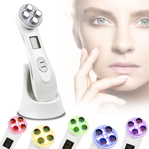 Facial Cleansing Radio Frequency LED Photon Face Lifting Blackhead Remover Skin Care tool Face Massager J1540