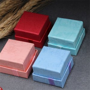 4x4cm Small Jewelry Ring Box Present Case Bowknot Decoration Organizer First Ornament Packing Boxes Necklace Portable 0 35mw B2