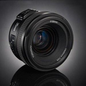 YONGNUO YN35MM F2C 1: 2 AF / MF gran angular fijo / lente de enfoque automático Primer para Canon EOS EF lente