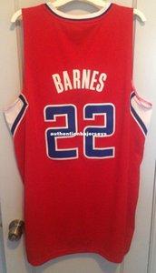 Cheap wholesale Matt Barnes Jersey Men Sewn Red AD #22 T-shirt vest Stitched Basketball jerseys Ncaa