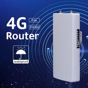 Impermeable al aire libre de la ranura de tarjeta Sim Router 3G 4G 4G Módem Router CPE Router Wifi con la antena externa Wifi Hotspot