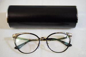 BV2186 نموذج الأزياء خفيفة الوزن chiara 53-17-140 معدن fullet تصميم أنيق للنساء النظارات الإطار لصفة النظارات cateye bvbs