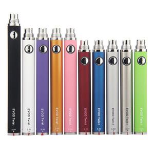 EVOD Twist 650 900 1100mAh Ego Thread Vape Pen Battery 510 Vision Spiner Variable Voltage 3.2-4.8V
