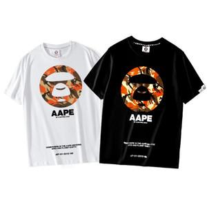 Мужская мода Письмо печати O-образный вырез футболка лето Мужчины хлопок с коротким рукавом Футболка Hip Hop Brand Man Повседневного Фитнес тройники
