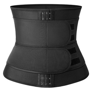 Cintura instrutor Fajas Colombianas Reductoras Corsets para mulheres Corpo Shaper Slim Fit Jogging Belt Cinturão usados para a cintura Neoprene