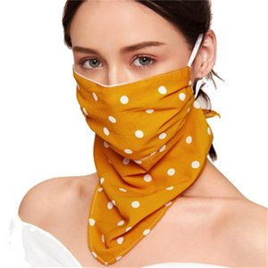 Multicolor explosion models printed sunscreen ice silk masks printed fabric ribbon masks can be dust-proof and washable  face mask
