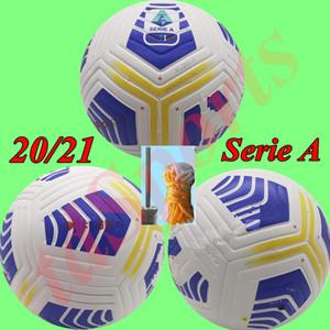 Nuevo club 2020 2021 Serie A Liga Tamaño 5 bola bolas de partido de fútbol agradable de alto grado 20 21 pelotas de fútbol
