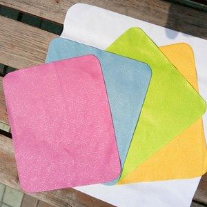Microfibre Xiangyun gaufrée pas le tissu de verres en tissu non pelucheux gaufrage imprimable claire