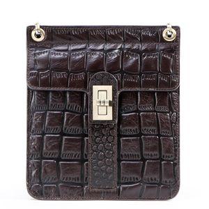 cuir mode motif crocodile dame hangbag le motif de pierre peut montrer le goût noble paquet aile atmosphérique que vous méritez