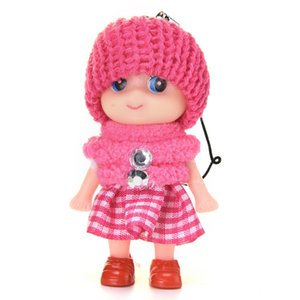 2020 New Kids Peluches Baby Dolls Interactive Toy Mini Doll 8 CM pour les filles