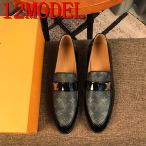 luxurious Men's Penny Loafers Crocodile Print Genuine Leather Wedding Party Casual Men Dress Shoes Black Red Fashion Male Flats SIZE 38-45
