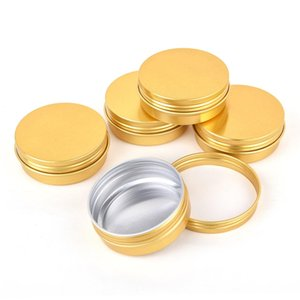 2oz 60G Aluminum Tin Jars Screw Top Metal Tin Cans Round Jars Bulk Food Tins Aluminum Tin Containers Candle Travel Tins