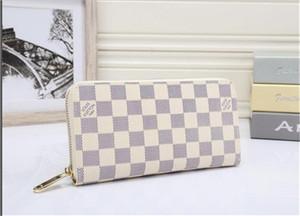 2020 raccoglitore del progettista portafoglio donne borse del progettista borse della frizione raccoglitori del supporto di carta di borsa di cuoio del progettista di trasporto nessuna scatola