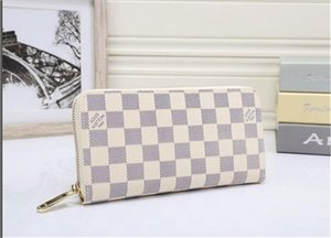 2020 carpeta del diseñador billetera para mujer de los bolsos del diseñador bolsos de embrague de las carpetas del monedero del diseñador de cuero titular de la tarjeta de enviar ningún cuadro
