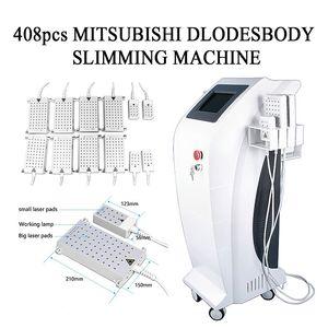 2020 İleri Teknoloji LipolaseR Diyot Lipo Lazer Terapisi Vücut Zayıflama Güzellik Makinası 650nm 940nm CE / DHL Hızlı Ücretsiz Gönderim