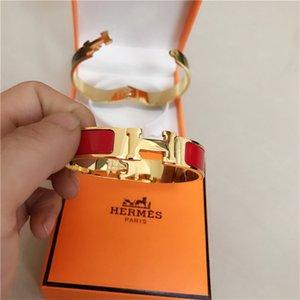 kadınlar ve erkekler için lüks tasarımcı Bilezik takı LV GG moda bilezik H Emaye kutusuyla Gucci bilekliği