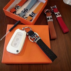 High qualtiyKeychain Key Chain & Key Ring Holder key chain Porte Clef Gift Men Women Souvenirs Car Bag with box