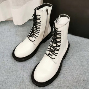 Boot Women Boots 100% Genuine Leather Ankle Shoes Fashion Girl Winter size35-40