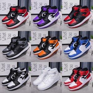 1S hiberné WNTR Gym Red Air Mens Basketball Soes Te Maître Flu Jeu Taxi 1 Hommes Sport Chaussures Retro Soe US -1 # 466
