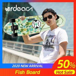 ARDEA Cruiser Skateboard 71cm 28in Fishboard Cruiser Penny skateboard Banana Fish board Outdoor Sport Portable Skate board