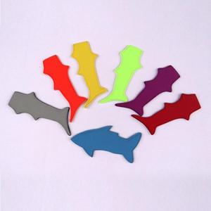 Köpekbalığı buzlu şeker tutucu Dondurucu Pop Buz Kollu Buzlu Blok Lolly Krem Tutucu Ice Ice Vaka İçin Çocuklar 7 Renk Opsiyonel