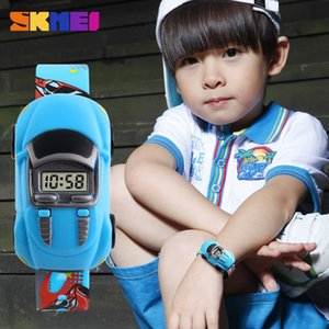Fashionable and personalized electronic for children and students creative car fashion toy Electronic Watch Watch watch
